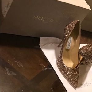 Jimmy Choo shoes I never wear them it's brand new